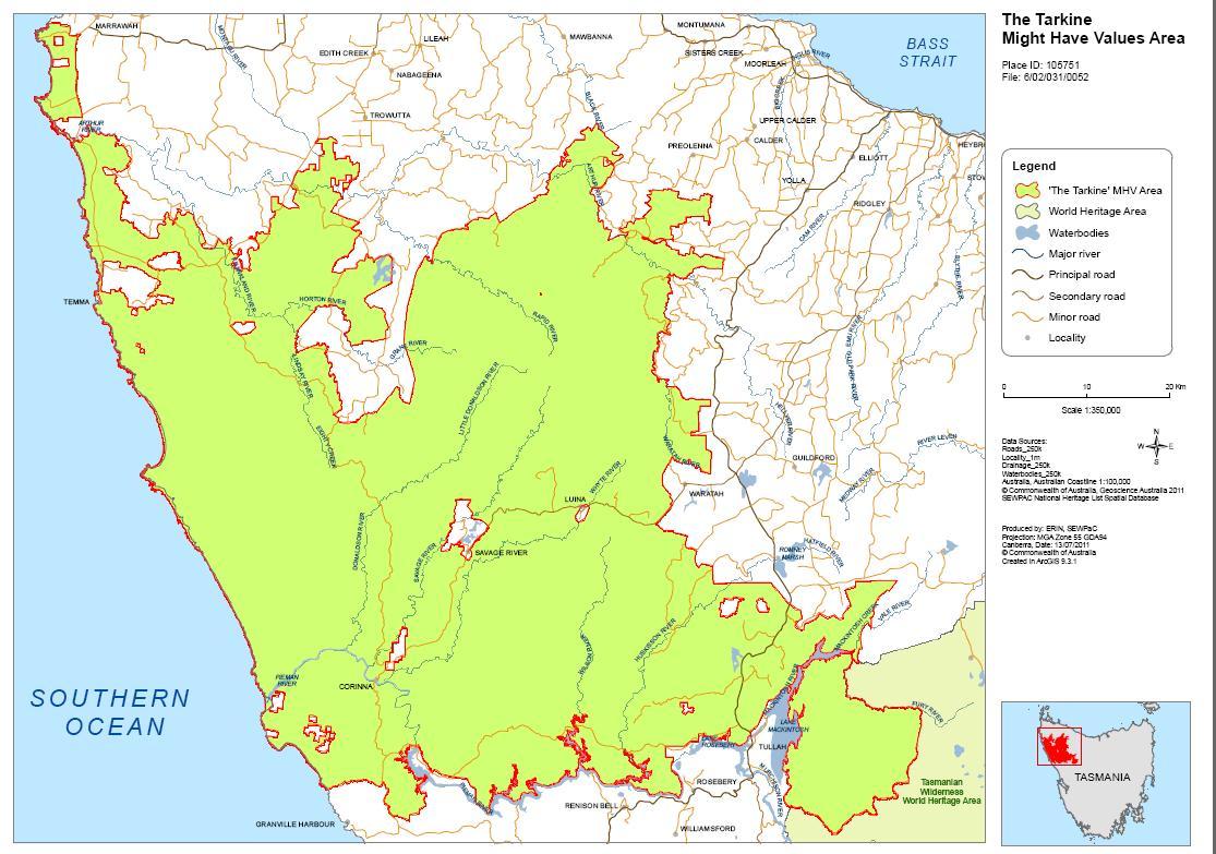 The habitat advocate code for environmental management tarkine world heritage values map gumiabroncs Images