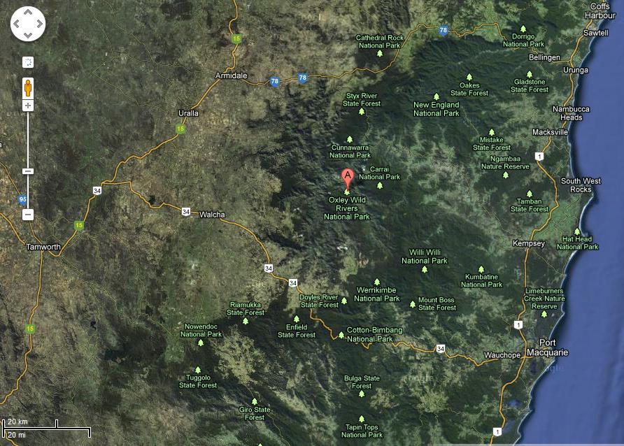 Google Maps Macleay Island
