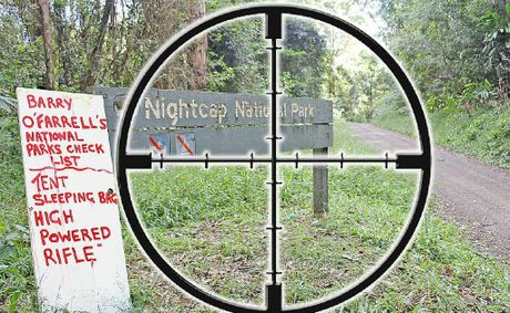Nightcap National Park in government sights
