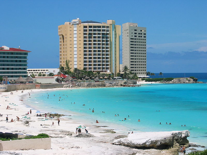 Cancún Beach, Mexico