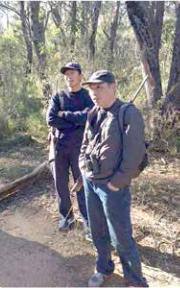 Hunters in Blue Mountains