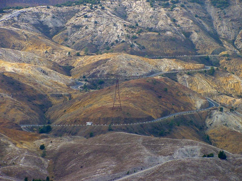 Tasmania's once rainforest long denuded by copper mining around Queenstown