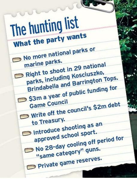 The Hunting List