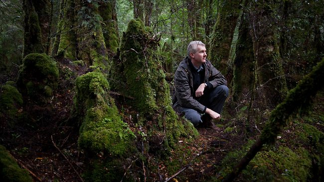 Tony Burke in The Tarkine