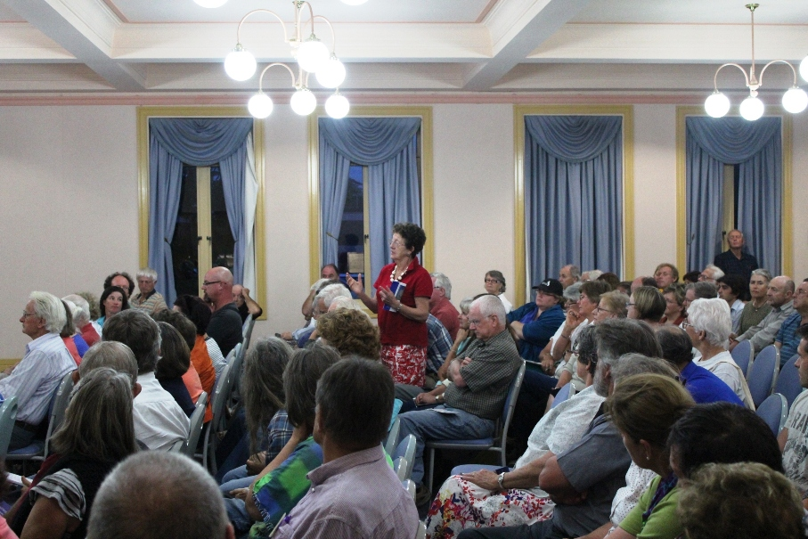 Maules Creek Community at Tamworth public meeting 20130225