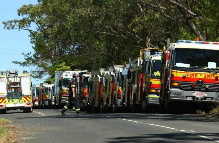 Fire Appliances unable to access remote bushfires