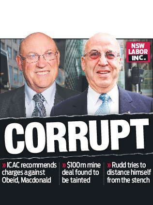 ICAC finds NSW Government Ministers Corrupt