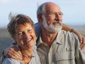 Conservationists Richard and Carolyn Green