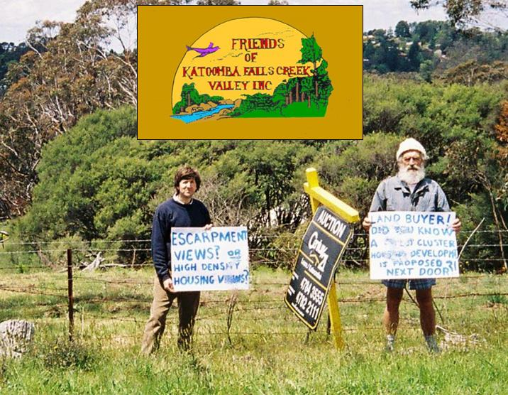 The Friends of Katoomba Falls Creek Valley Inc. in The Gully